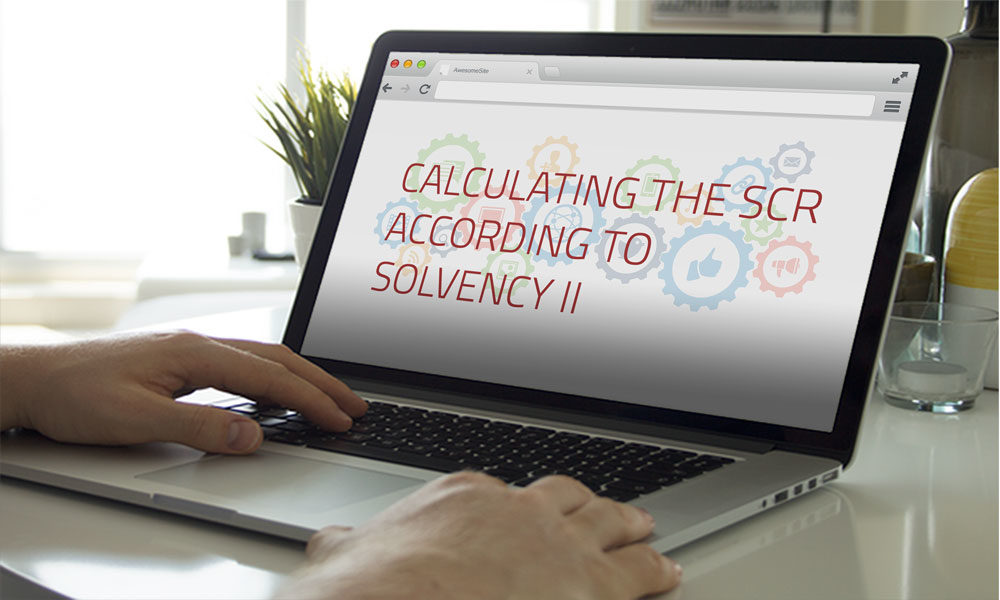 Calculating the SCR according to Solvency II